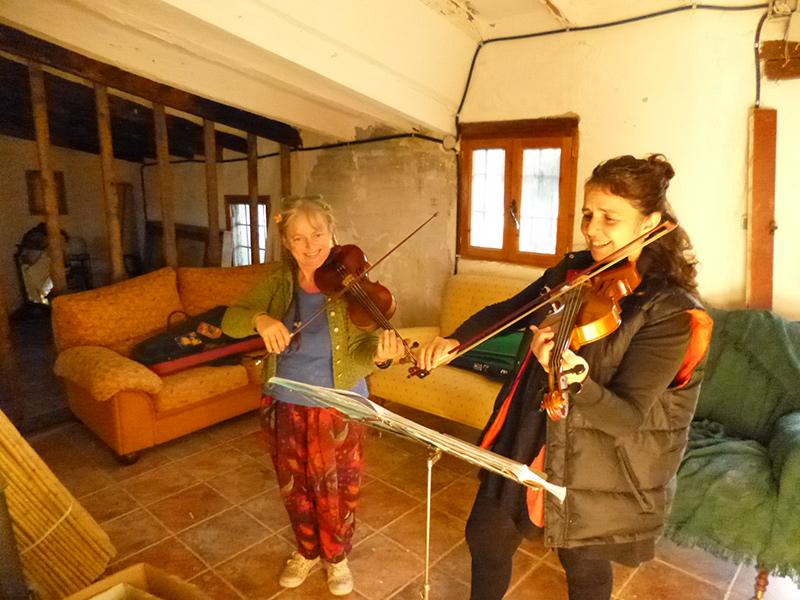 Clase de Violin – Ojalá Lliria