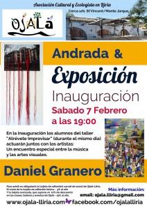 Exposición Andrada y Daniel Granero.