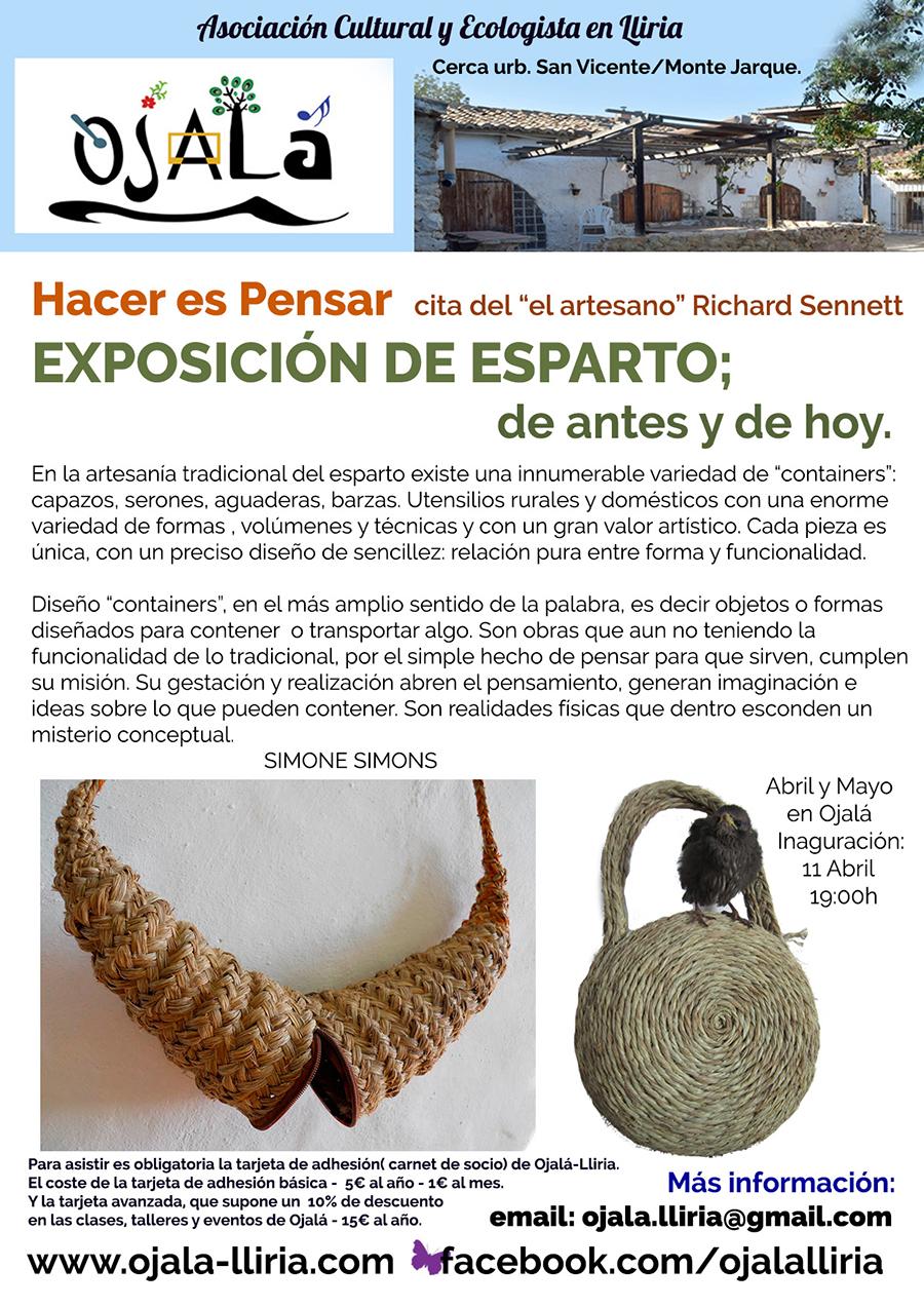 Exposición de Esparto – Simone Simons.