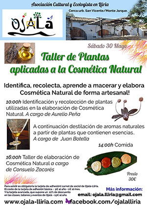 Taller de Plantas Cosmetica.