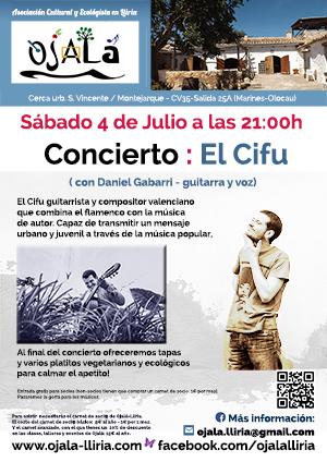 Concierto : El Cifu – Ojalá Lliria