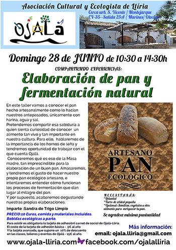 Taller de pan : elaboración de pan y fermentación natural. – Trigo Limpio.