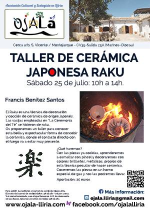 Taller de Cerámica – Japonesa RAKU