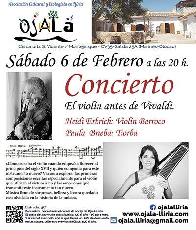 Concierto – El violín antes de Vivaldi.