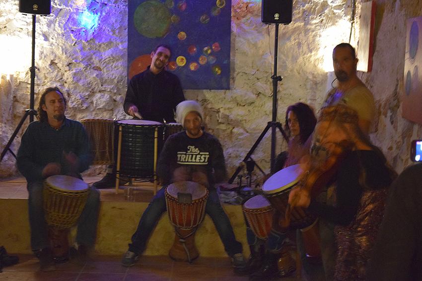 session percusión