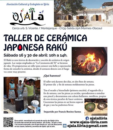 taller de Raku abril 2016s