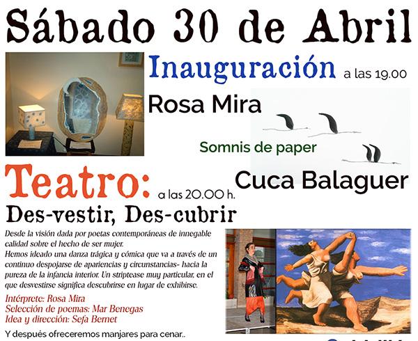 Inauguración y teatro