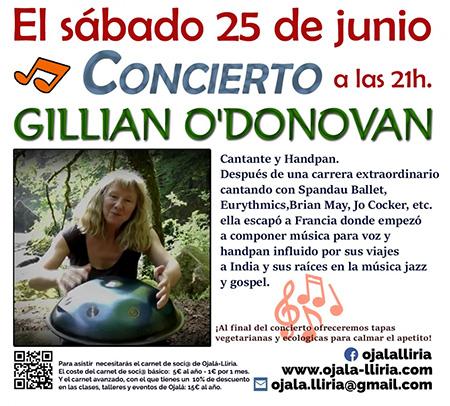 Gillian o donovan 25 julio 2016s