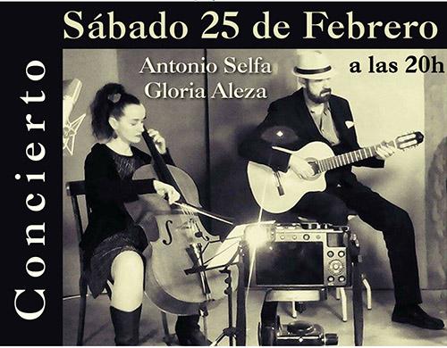 Concierto de Antonio Selfa y Gloria Aleza