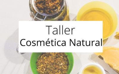 Taller Cosmética Natural 16 de febrero