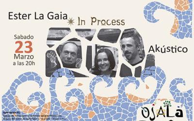 Ester La Gaia Concierto 23 Marzo – CANCELADO –
