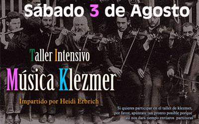 Taller Klezmer 3 de Agosto