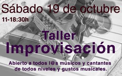 Taller de improvisación 19 de octubre