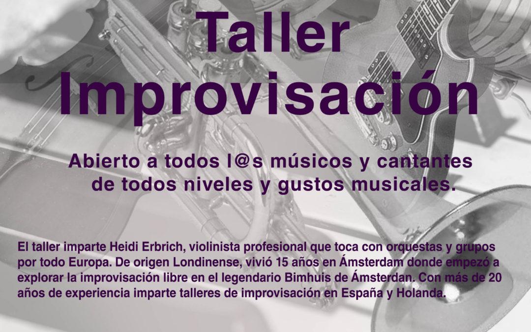 Taller de Improvisación – 25 de julio