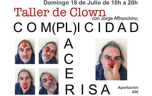 Taller de Clown – Domingo 18 Julio
