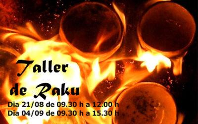 Taller de Raku – 21 Augusto 4 Septiembre